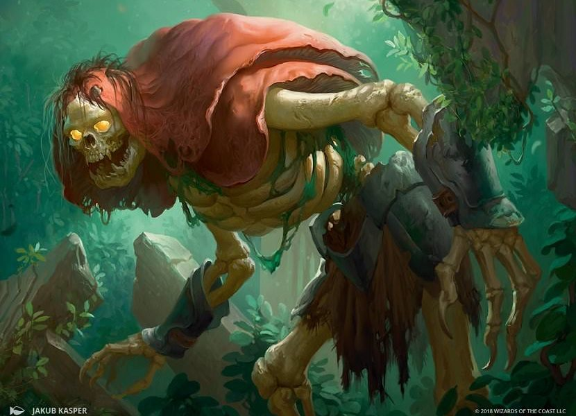 golgari grave troll mtg magic