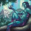 Dryad-of-the-Ilysian-Grove-Theros-Beyond-Death-Art