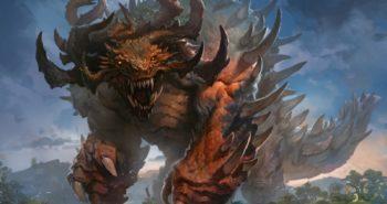 Titanoth-Rex-Ikoria-MtG-Art