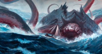 Gyruda-Doom-of-Depths-Ikoria-MtG-Art