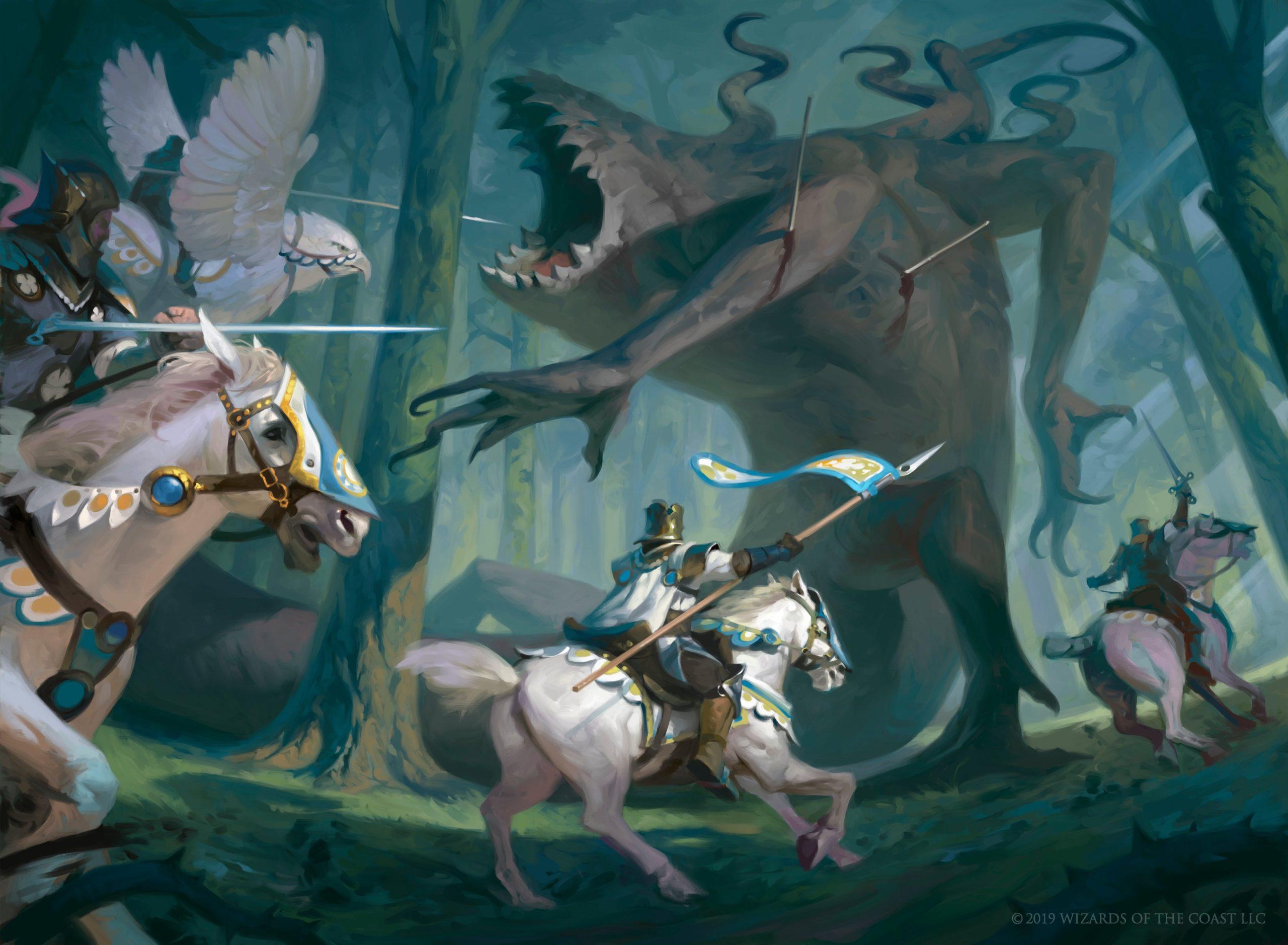 Throne of Eldraine - analiza dodatku pod kątem limited: Biały