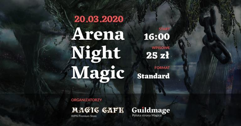 Arena Night Magic. Zapraszamy na turniej!