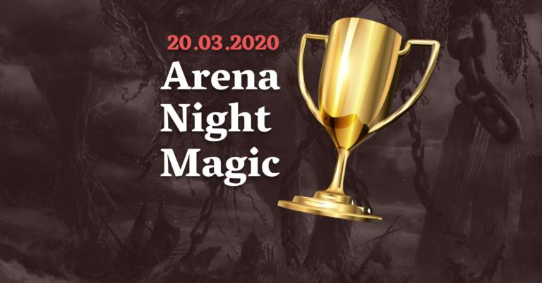 Decklisty i relacja z top 8 Arena Night Magic