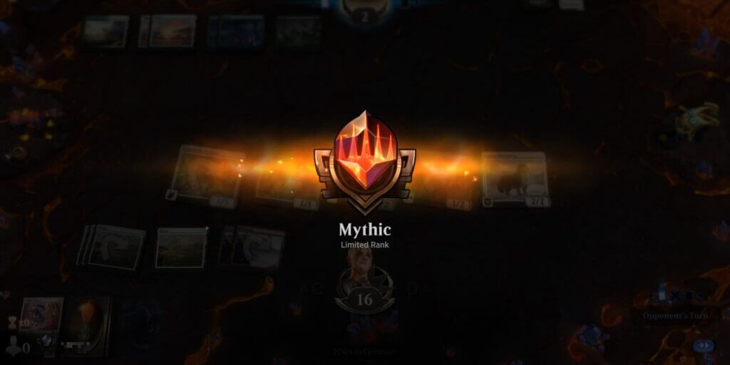 Moja droga do Mythika w limited na MTGA