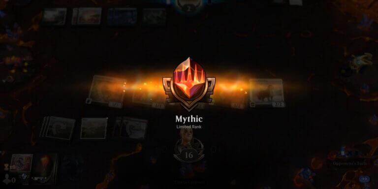 Moja droga do Mythika w limited na MTGA