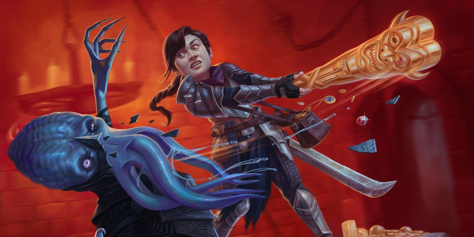 Analiza Adventures in the Forgotten Realms w limited - czerwony