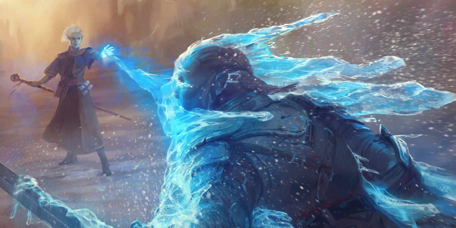 Analiza Adventures in the Forgotten Realms w limited - niebieski